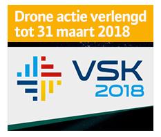 Drone actie verlengd tot 18 maart 2018